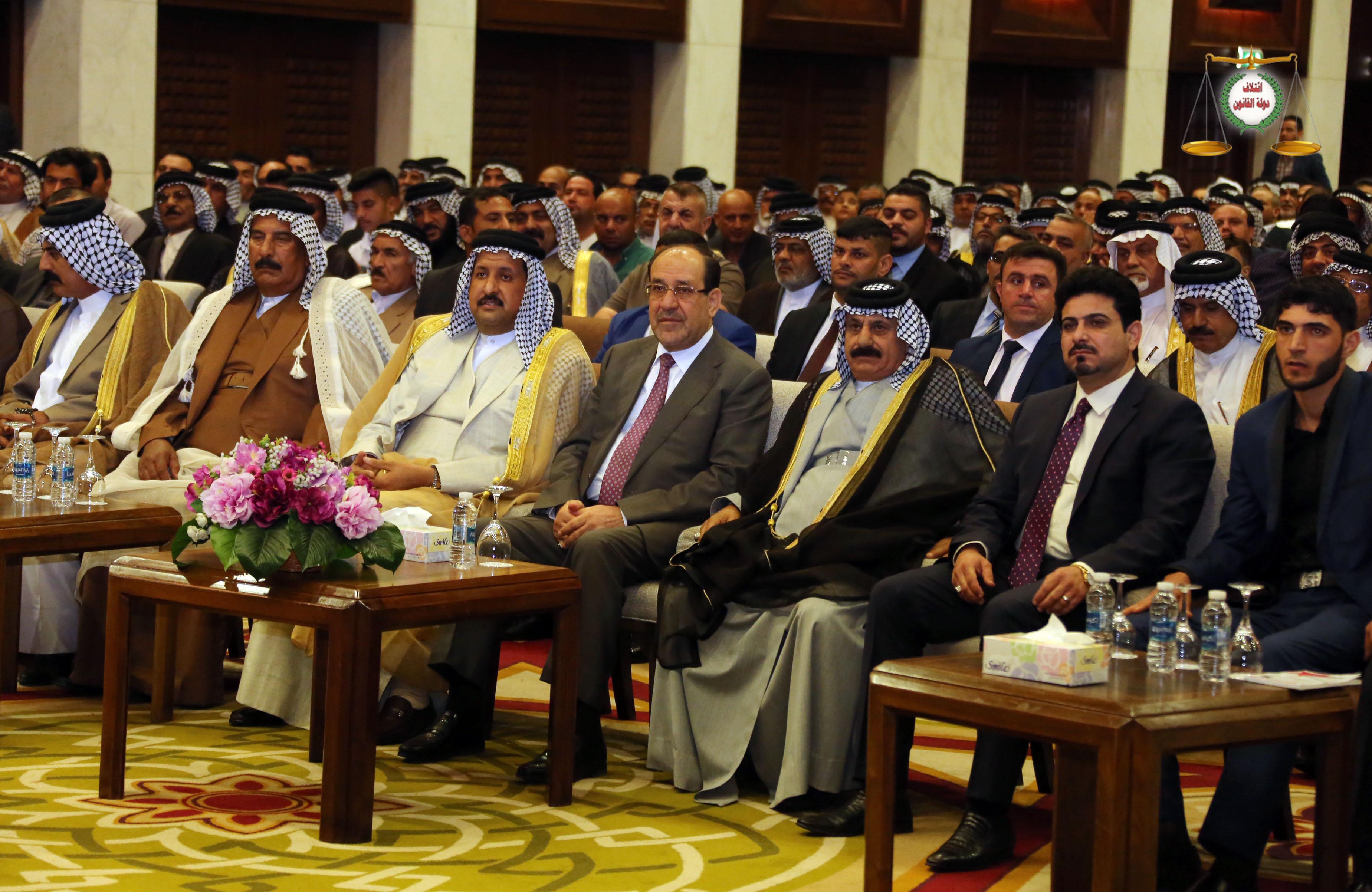 في مؤتمر جماهيري إقامته قبيلة بني كعب في بغداد